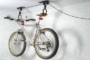 Filmer 46.870 Fahrrad Deckenlift / Fahrradlift - Deckenaufhängung für 1 Rad