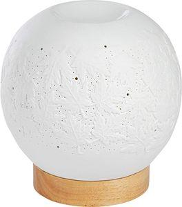 ONVAYA® Duftlampe | Elektrisch | Creme weiß | Aroma Diffuser | Aromalampe | Duftstövchen | Modernes Duftlicht | Modell Petra