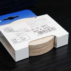 Umleimer Nachbildung Sonoma Eiche 20 mm x 5 m Kantenumleimer mit Schmelzkleber Sonoma Eiche als Bügelkante zum Aufbügeln für Regalbretter und Möbelbauplatten