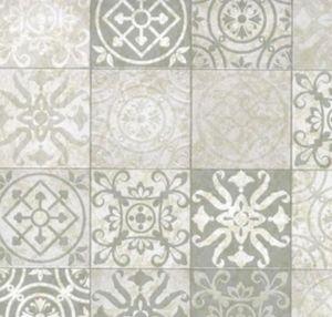 Klebefolie - Möbelfolie Antique Design grau -  45 cm x 200 cm