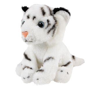 Kuscheltier Tiger weiß klein 15 cm