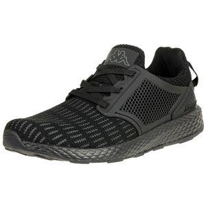 Kappa Moxie Sneaker Unisex Laufschuh Fitness schwarz, Schuhgröße:45 EU