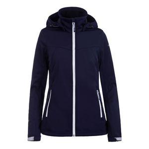 Icepeak Softshell Jacke für Damen leicht und Wasserabweisend Boise, Farbe:Dunkelblau, Damen Größen:40