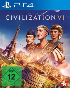 Take 2 Interactive Sid Meiers Civilization VI PS4 USK 12 42569 - PlayStation 4 - PlayStation 4 - Mul Take 2