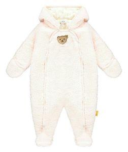 STEIFF® Baby Mädchen Plüsch Einteiler, Größe:56, Präzise Farbe:Rosa