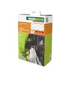 Katzenschutz-Netz, schwarz, Schutznetz 2,5 x 4 m