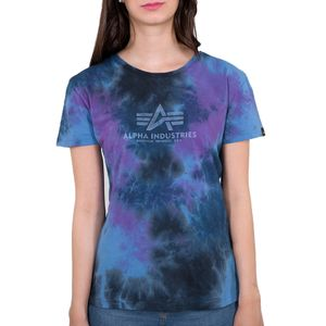 Alpha Industries Damen Basic T-Shirt Batik Wmn galaxy batik XL