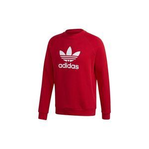 Adidas Originals Crewneck Herren TREFOIL CREW GD9926 Rot, Größe:L