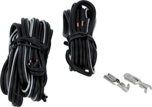 FISCHER Fahrrad-Kabel-Set 2-adrig mit Kabelschuh