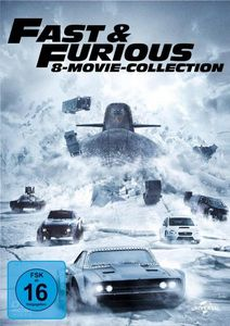 Fast & Furios 8er Movie Collection (DVD) Min: 920DD5.1WS