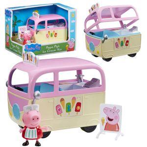 Auswahl Fahrzeuge   Peppa Wutz   Peppa Pig   Mit Figur und Zubehör, Figur:Eiscreme-Auto