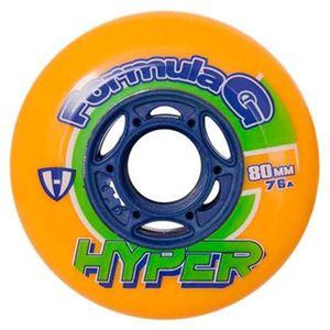 Hyper Wheels Hockey Indoor Formula G Era Orange 72 mm / 76A