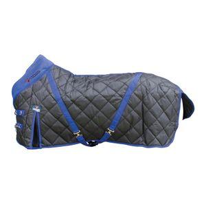 CATAGO Stalldecke, 300g - schwarz/blau 145 cm