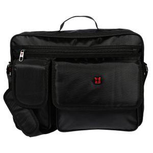 XXL Umhängetasche Flugbegleiter Tasche Messenger Arbeitstasche Laptoptasche