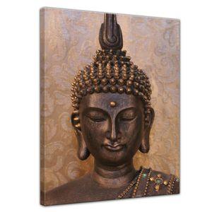 Leinwandbild - Buddha - 90x120 cm