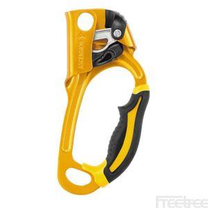 Petzl Ascension Seilklemme Kletterzubehör, Modell:rechts gelb