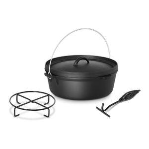 Royal Catering Dutch Oven mit Ständer - 6 Liter