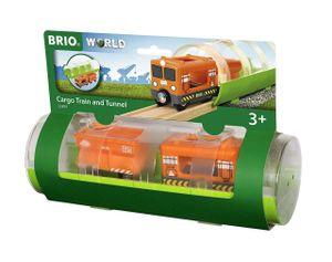 BRIO Bahn - Tunnel Box Frachtzug