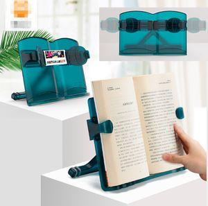 Multifunktional Falten Leseständer Einstellbar Bücherregal Einstellbares Bücherstand Tablet-Ständer