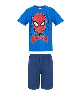 Spiderman Shorty Pyjama, blau, Gr. 104-140 Größe - 140