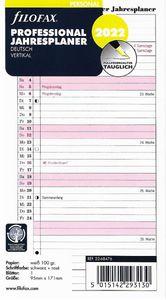 Filofax Kalendereinlage Personal: Professional Jahresplan 2022 deutsch vertikal