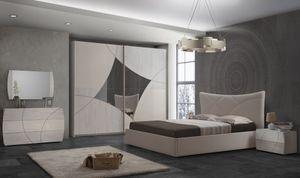 Schlafzimmer Komplett Set Atom 6-Teilig 180 x 200 cm