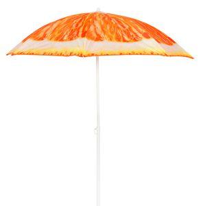 Sonnenschirm rund 1,80m Modell ORANGE knickbar UV Schutz