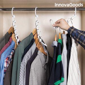 InnovaGoods Kleiderbügel Organizer für 40 Kleidungsstücke (24-Teilig)