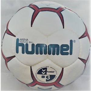 hummel Arena Handball white/red/blue 3