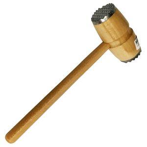 Holzfleischhammer mit Metallkopf, 26,5x11cm