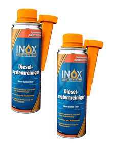 INOX® Diesel Systemreiniger Additiv, 2 x 250ml - Dieselzusatz für alle Dieselmotoren löst Verschmutzung und Verharzung