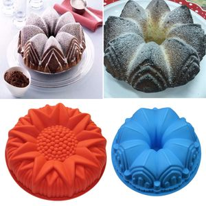 2pcs Kuchenform Backformen Silikon Backform, Küche Backen Tortenbodenformen