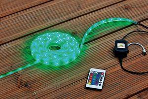 Heissner Unterwasser LED-Band Starter-Set Farbwechsel mit Trafo 5m