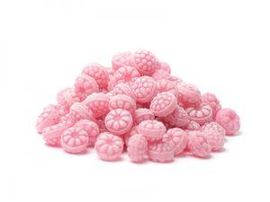 Himbeer-Bonbons, kandiert