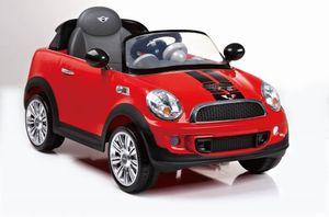 Kinderfahrzeug MINI COOPER S COUPE , 6V, RC, mit Fernbedienung, rot