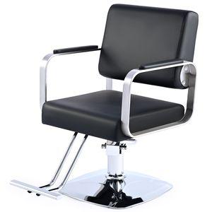 Hydraulischer Friseurstuhl Coiffeurstuhl Salon Stuhl Bedienstuhl Friseursessel