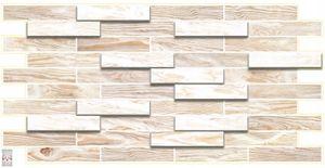 3D PVC FLIESEN Wandpaneele Wandverkleidung PVC-Verkleidung Holz Wand Holzwand Holzimitation BLEACHED OAK (0,47qm)