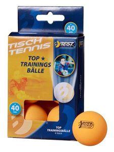 Tischtennisball / Trainingsball orange 6Stück