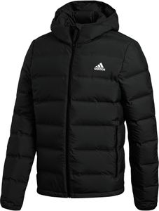 adidas TERREX Helionic Kapuzen-Daunenjacke Herren black Größe M