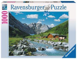 1000 Teile Ravensburger Puzzle Karwendelgebirge, Österreich 19216