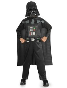 Darth Vader-Kinderkostüm Star Wars-Lizenzkostüm schwarz