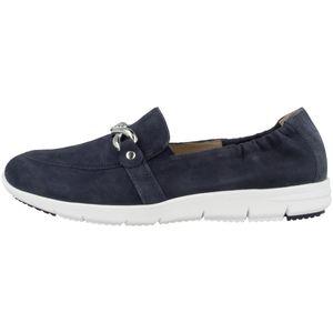 CAPRICE Slipper blau 42