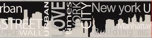 A.S. Création Bordüre Only Borders 9 grau metallic schwarz 5,00 m x 0,13 m 935671