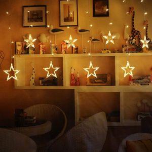 led lichtervorhang tannenbaum dekoration streifen netz weichnachten xmas garten