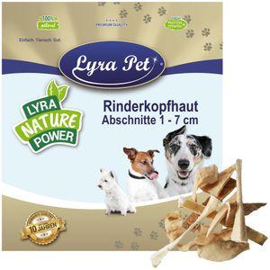 10 kg Lyra Pet® Rinderkopfhaut Abschnitte 1 - 7 cm