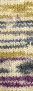 Lana Grossa - Feltro Snow - Fb. 452 rohweiß/jeans/petrol/senf/grau 50 g