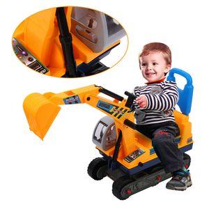 Profi Kinderbagger Rutscher Bagger Rutschauto Sitzbagger Spielzeug Sandkasten Spielzeugauto LKW