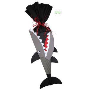 Schultüte Bastelset Hai vorgestanzt