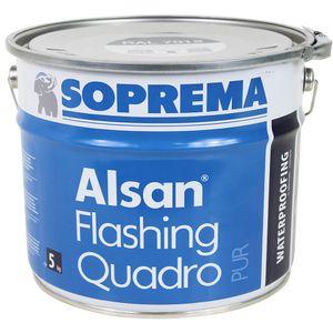 ALSAN FLASHING QUADRO | Abdichtungsharz | 5,0 kg/Gebinde (Farbe RAL 7012- basaltgrau)