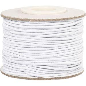 Creotime elastisch 25 m 1 mm weiß